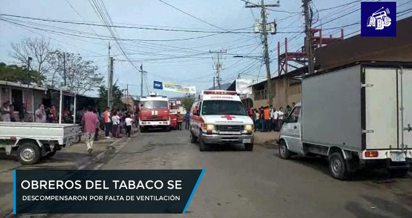 Trabajadores de fábrica de puros sufren afectaciones por falta de ventilación