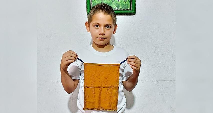 El sastre y emprendedor más pequeño del norte de Nicaragua