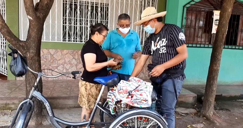 Lucho: construye sus sueños vendiendo tamales