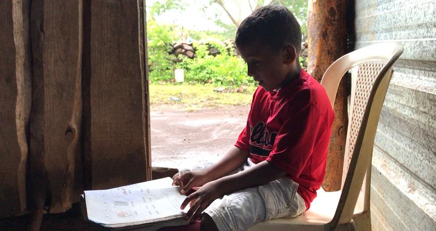Niñez rural sin acceso a electricidad e internet