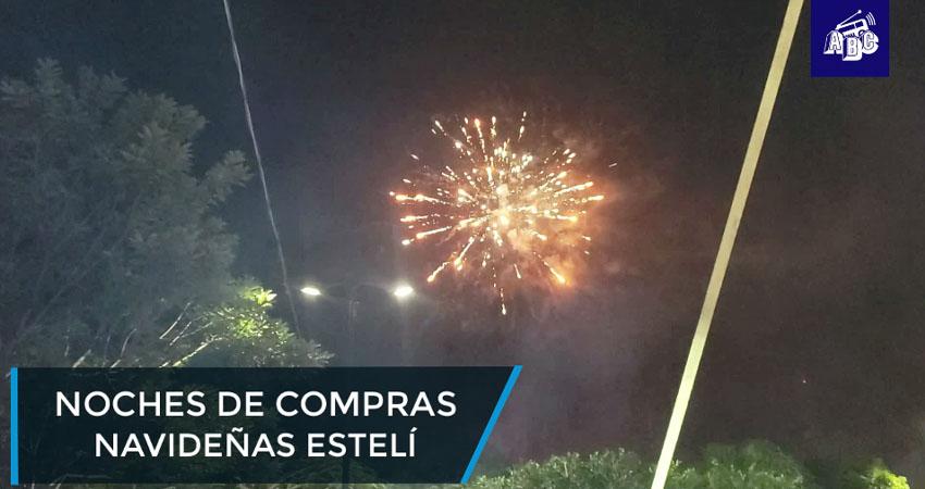 Noches de compras navideñas en Estelí