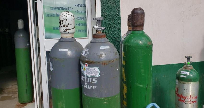 Oxígeno: una compra recurrente en las familias del norte
