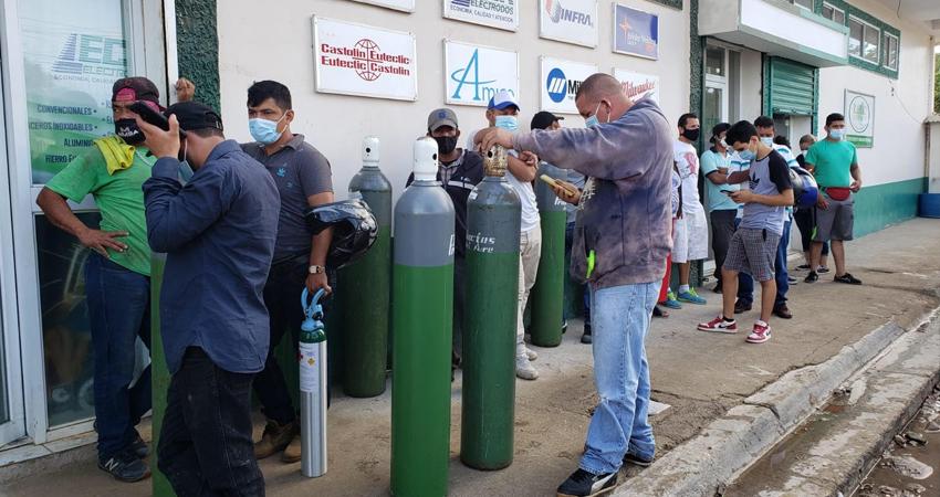 Preocupación por falta de venta de oxígeno
