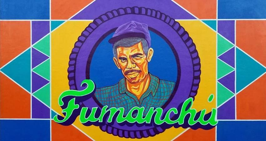 Mural elaborado por Osman Valenzuela. Foto: Alba Nubia Lira/Radio ABC Stereo
