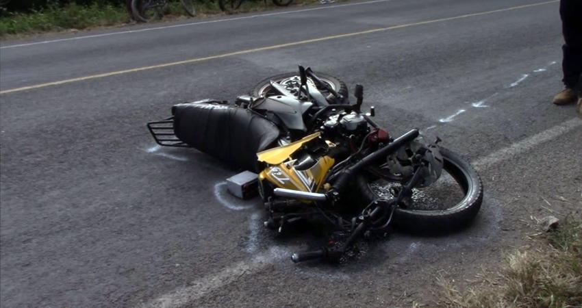 La víctima viajaba en motocicleta. Foto: Jacdiel Rivera Cornejo