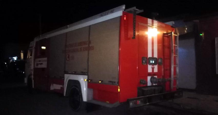El fuego pudo controlarse a tiempo. Foto: Juan Fco. Dávila/Radio ABC Stereo