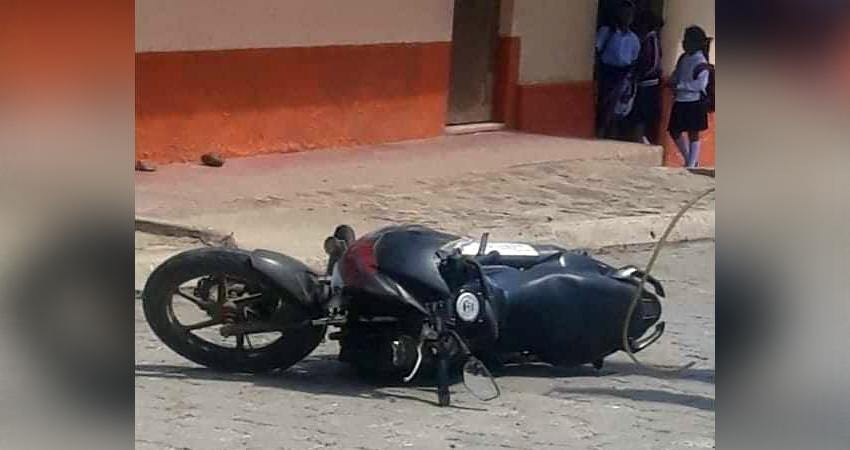 La presencia de una bestia en la vía cobró la vida de un motociclista ayer en el Regadío, Estelí.