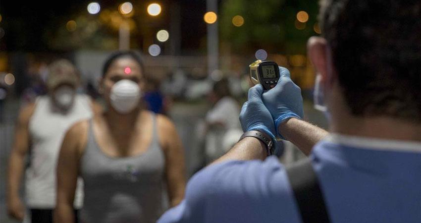 Nicaragua tiene en total 6,347 casos positivos de Covid-19 y la cifra total de muertes asciende a 171.