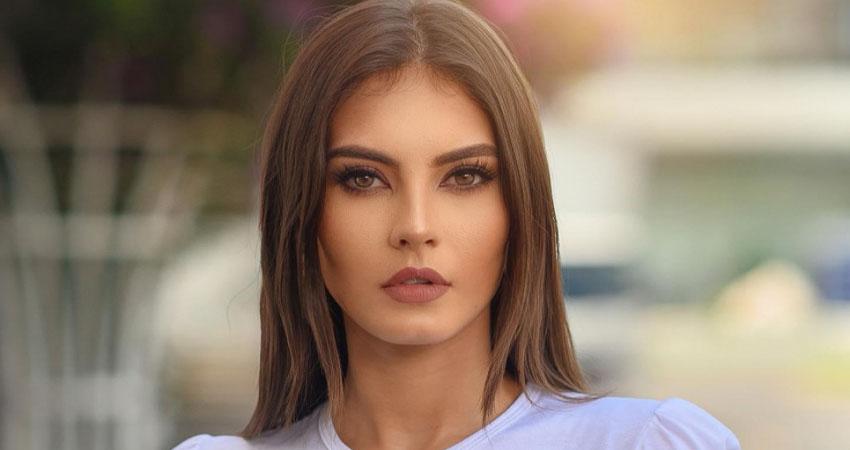 Ana Marcelo, Miss Nicaragua 2020, se ha venido preparando para el certamen.