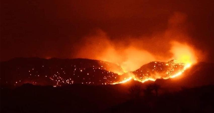 Incendios en Somoto. Foto: Facebook Emir Alfaro