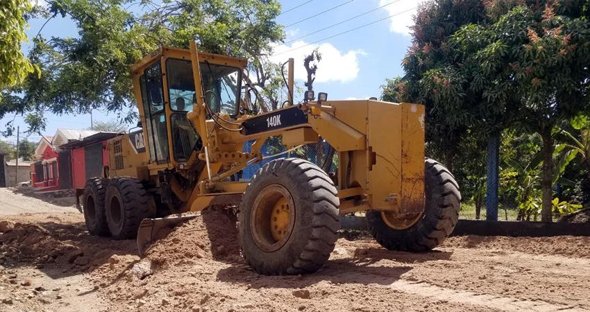 La demanda de reparación de calles y caminos es una de las principales solicitudes a la alcaldía municipal.