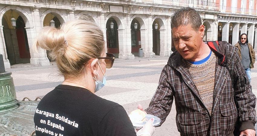 Nicaragüenses de corazón solidario ante la crisis del coronavirus en España