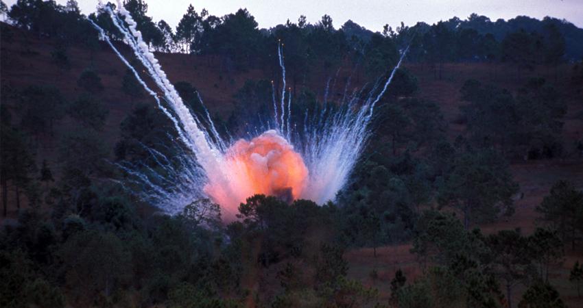 Un fallecido y cuatro heridos por explosión de minas antipersonal