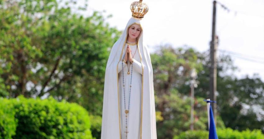 Imagen de Nuestra Señora de Fátima. Foto: Cortesía