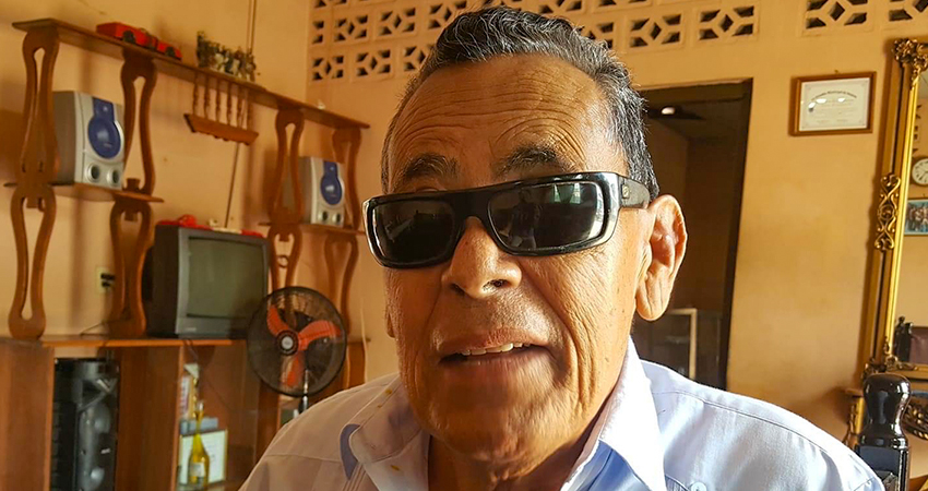 Último adiós a Oscarito, popular músico y periodista no vidente de Somoto