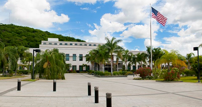 Embajada de Estados Unidos en Nicaragua. Foto: LP