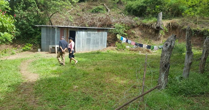 Este es el nuevo terreno que pertenece al matrimonio de no videntes. Foto: Cortesía/Radio ABC Stereo