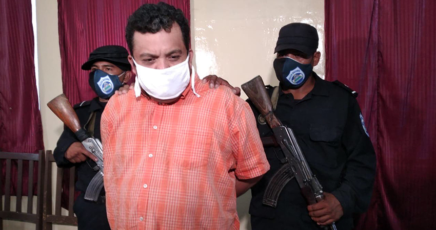 Pedro Salomón Hernández, señalado del crimen. Foto: Juan Fco. Dávila/Radio ABC Stereo