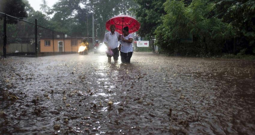 Onda Tropical Amanda también afectó la zona norte de Nicaragua