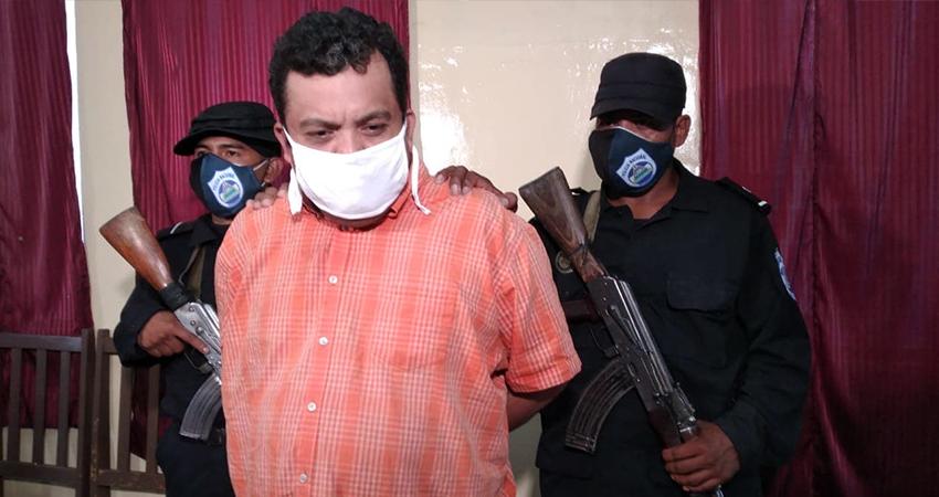 Pedro Salomón Hernández Vásquez huyó del lugar pero fue capturado horas después. Foto: Juan Fco. Dávila/Radio ABC Stereo