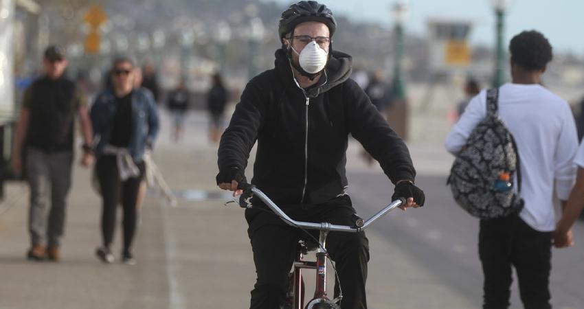 La OMS recomienda usar la bicicleta durante la pandemia del COVID-19