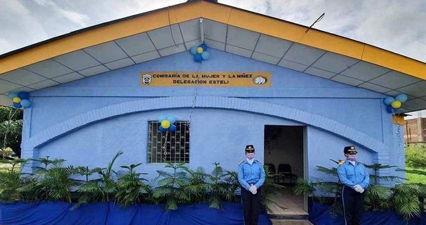 Se espera buena atención con la reapertura de la Comisaría de la Mujer y la Niñez en Estelí