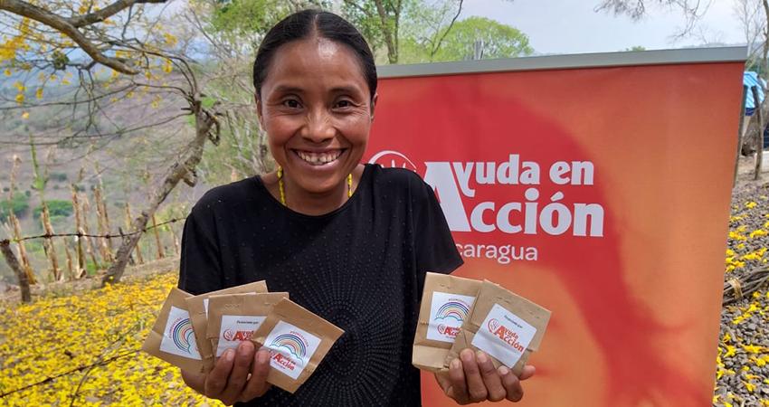 El proyecto beneficia a mujeres y a la comunidad. Foto: Cortesía/Ayuda en Acción