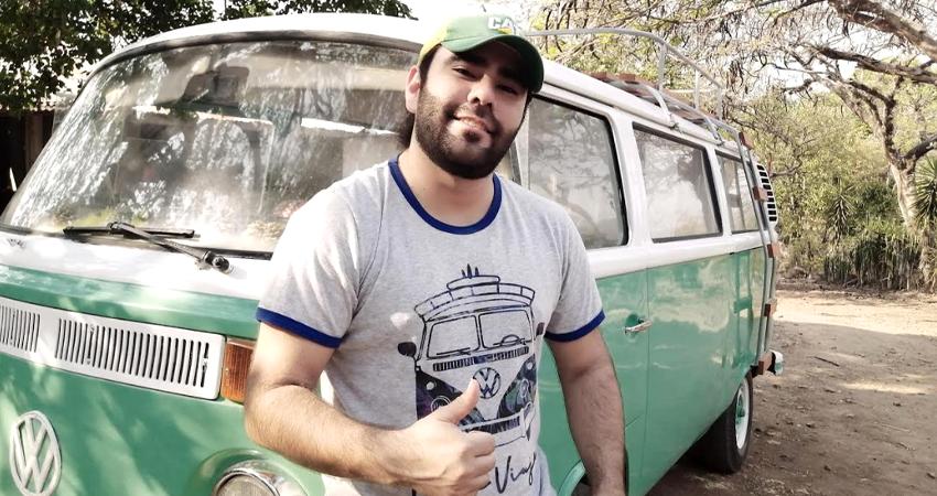 José Rivera es música, su sector es uno de los más golpeados por la crisis sanitaria y ha optado por los conciertos virtuales. Foto: Cortesía