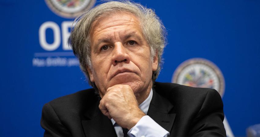 En la carta solicita una reunión urgente ante el Consejo Permanente de la OEA.