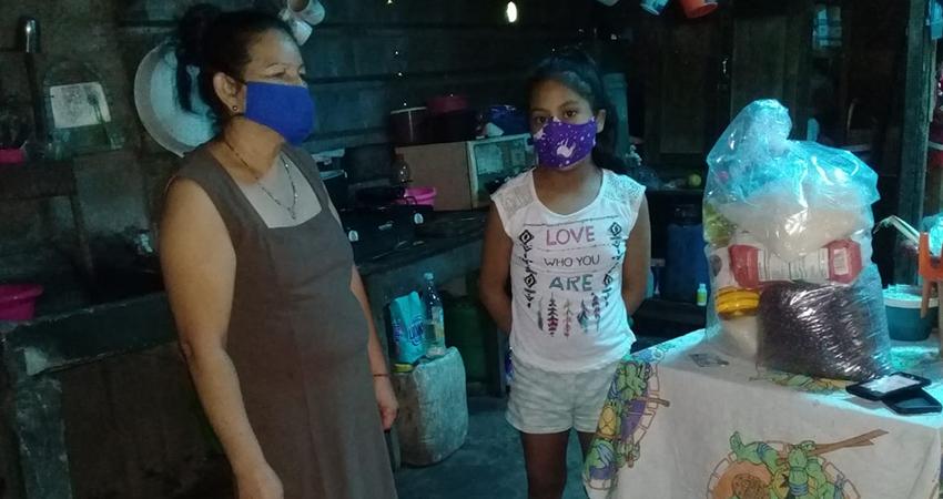 INPRHU mantiene ayuda para familias afectadas por la pobreza y desempleo en Estelí