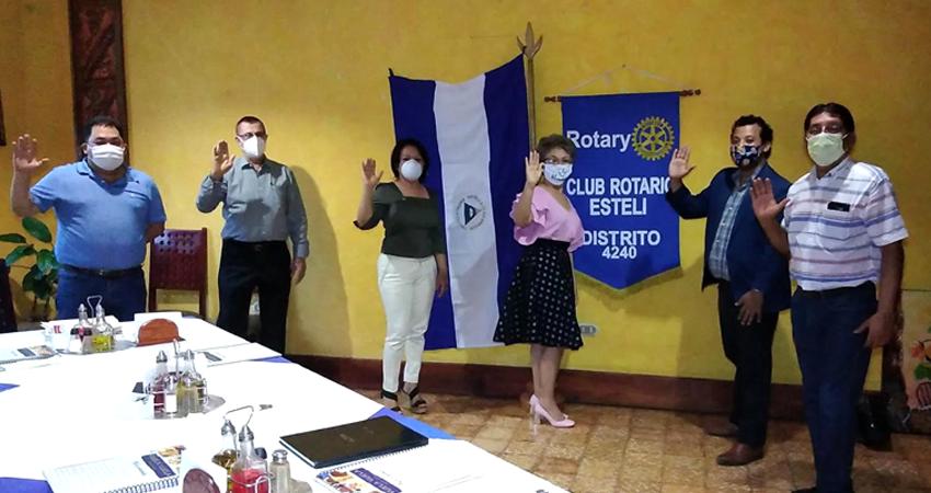 Club Rotario de Estelí tiene nueva junta directiva