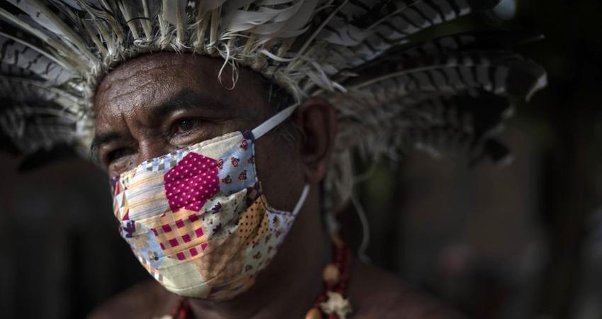 Más de 500 indigenas fallecieron por covid-19 en Brasil