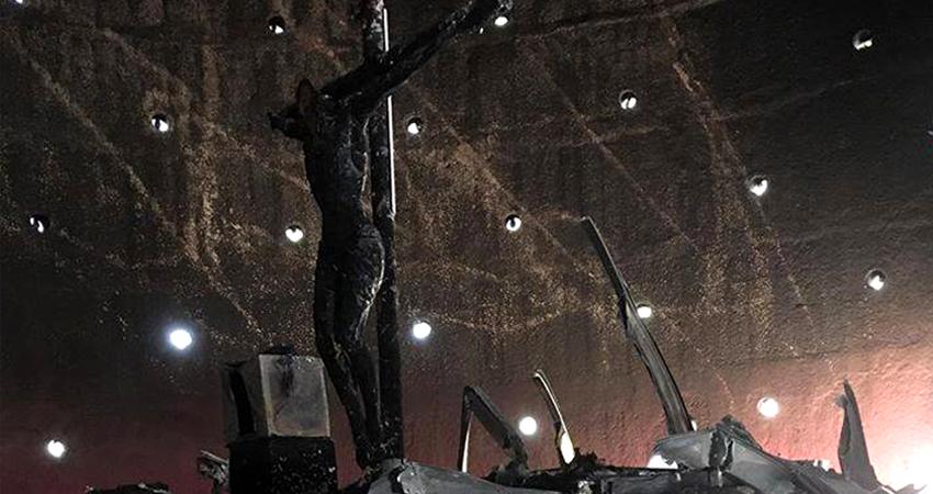 """""""Es doloroso, hemos derramado lágrimas"""", admitió el Cardenal Leopoldo Brenes. Foto: Cortesía"""
