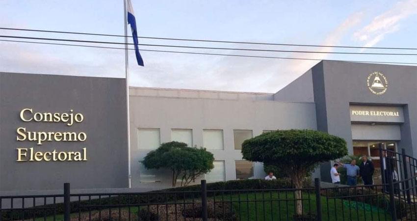 Edificio del Consejo Supremo Electoral de Managua. Foto: La Prensa