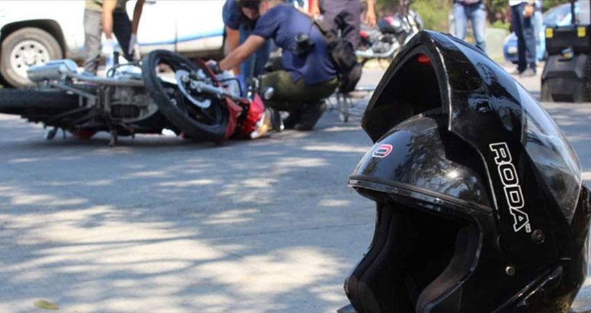 De los accidentes de tránsito atendidos por la Cruz Roja, la mayoría corresponden a motociclistas que chocaron contra otro vehículo.