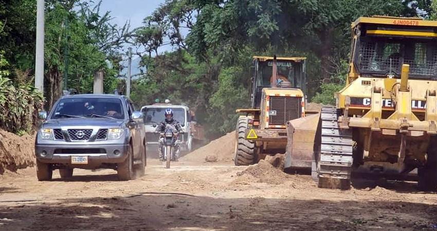 Proyecto de adoquinado Pueblo Nuevo a San Juan de Limay. Foto: Alcaldía Pueblo Nuevo