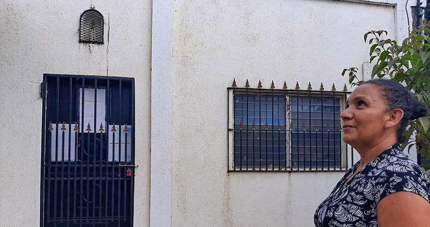 Actualmente la pequeña venta permanece con las puertas cerradas. Foto: Famnuel Úbeda/Radio ABC Stereo
