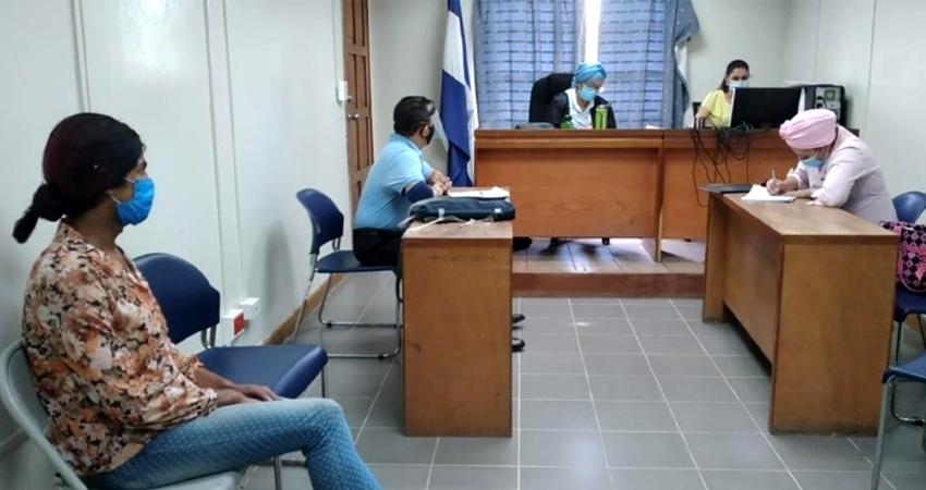 La juez Alma Pino admitió la acusación. Foto: Juan Fco. Dávila/Radio ABC Stereo