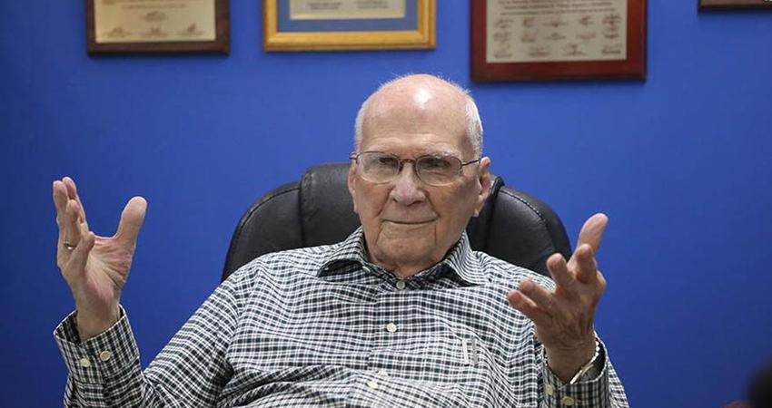 Enrique Bolaños Geyer gobernó Nicaragua entre 2002 y 2007. Foto: La Prensa
