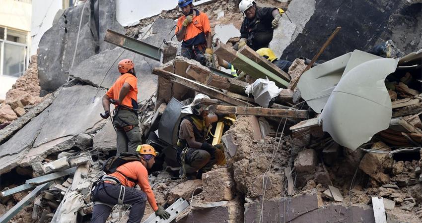 """""""Podría haber sobrevivientes"""", aseguraron funcionarios. Foto: Cortesía"""