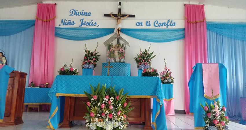 Feligreses de Estelí celebraron infancia de Jesús