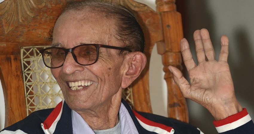 Don William John Hooker es originario de Bluefields pero lleva décadas viviendo en Somoto. Foto: Martha Celia Hernández/Radio ABC Stereo