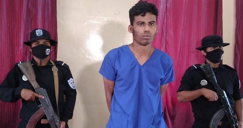 Junior Horacio Rodríguez admitió haberle quitado la vida a su tío Félix Pedro Rodríguez en una comunidad de Pueblo Nuevo, Estelí.