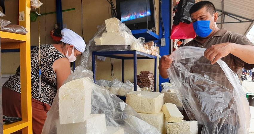 El queso seco se cotiza a 60 córdobas por libra. Foto: Archivo/Radio ABC Stereo