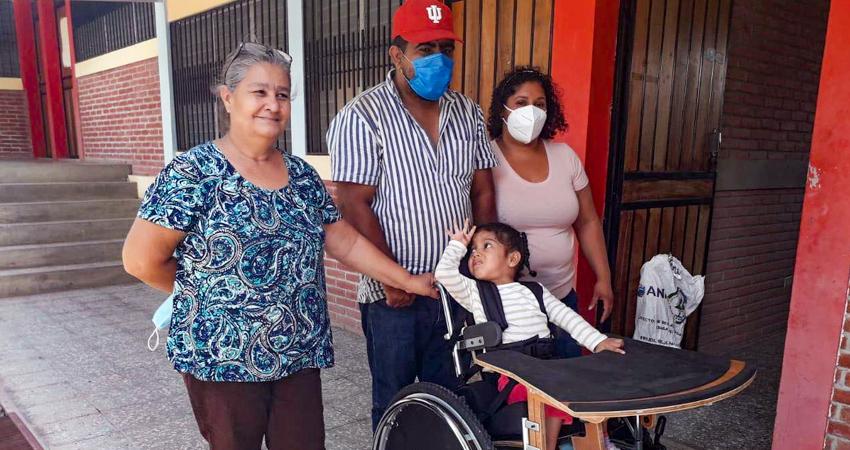Después de 5 meses suspendidas, en Los Pipitos Estelí ya están atendiendo a grupos pequeños de pacientes con discapacidad.