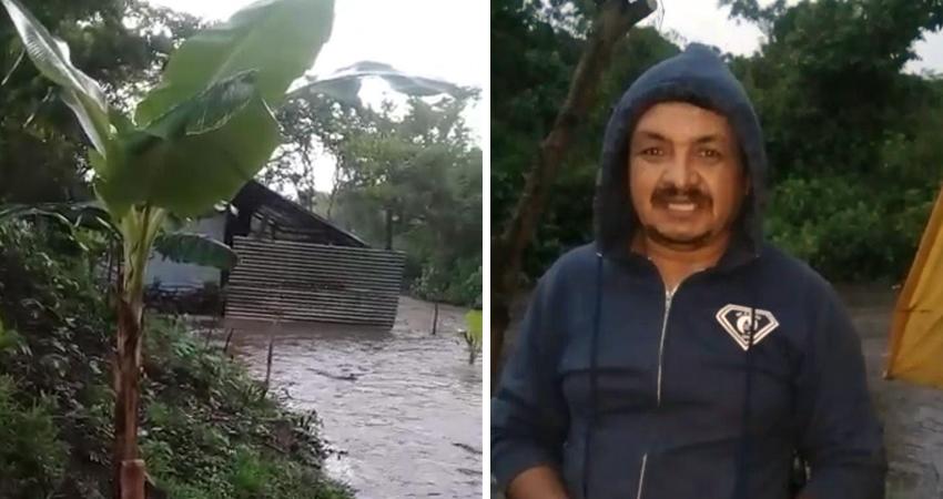 Don Juan García y su familia atraviesan por difíciles momentos, la pobreza no les permite poder pagar el alquiler de una vivienda y habían decidido asentarse en las cercanías del río. Ellos urgen de la ayuda de las autoridades.
