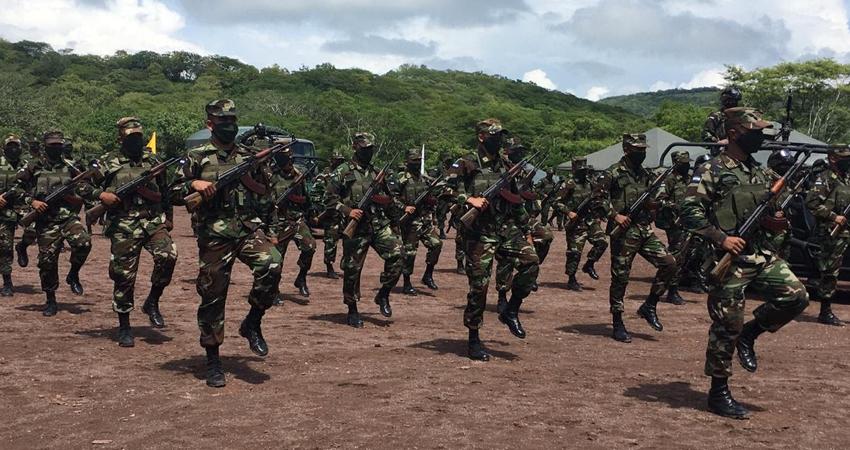 La región segoviana genera el 18% del total de la producción de café en Nicaragua, por lo que el Primer Comando Militar Regional del Ejército se comprometió a garantizar seguridad en el campo.