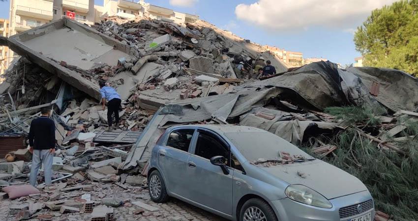 El potente terremoto sacudió las costas de Turquía y a las islas griegas del Egeo, causando daños materiales considerables en distintas localidades.