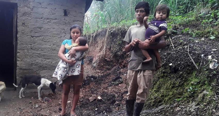 La semana pasada varias familias buscaron zonas más seguras. Foto: Cortesía/Radio ABC Stereo