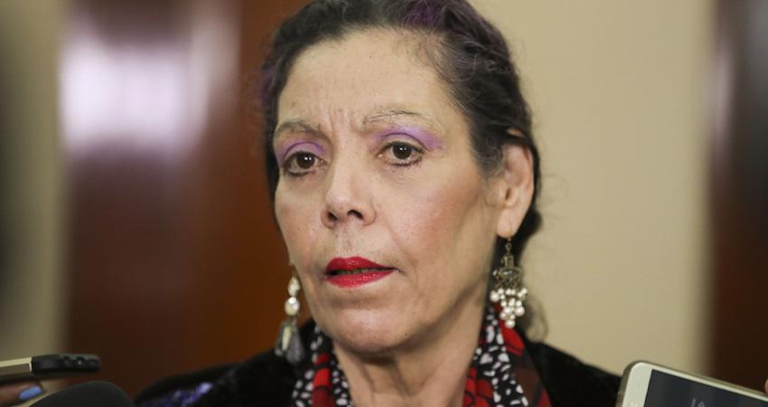 Rosario Murillo, vicepresidenta de Nicaragua. Imagen de cortesía